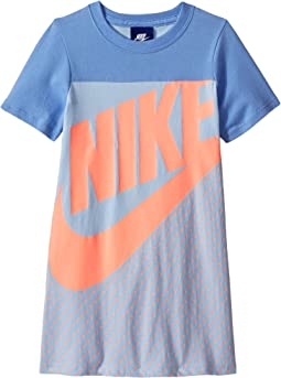 Sportswear Jersey GFX Dress (Little Kids)