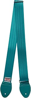 Souldier Custom GS0000TL04TL Recycled Seatbelt Electric Guitar Strap, Teal