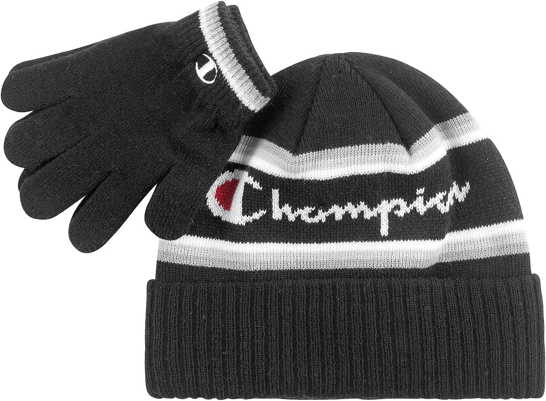 Champion Kids' Glove & Beanie Set