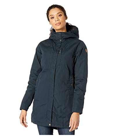 Fjallraven Kiruna Padded Parka (Dark Navy) Women