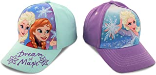 Girls Frozen and Minnie Mouse Cotton Baseball Cap 2 Packs...