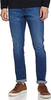 Wrangler Men's Skinny Fit Jeans (W38701W22SMU034033_Jsw-Indigo_34W x 33L)