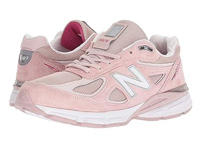 New Balance M990V4 (Faded Rose/Komen Pink) Men