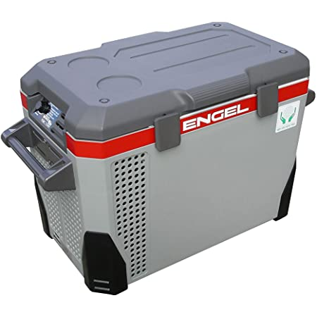 Engel MR040F-U1 40 Qt AC/DC Portable Tri-Voltage Fridge/Freezer w/ABS Plastic Shell, Grey