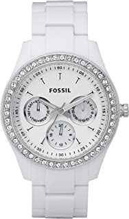 Women's Stella Stainless Steel Crystal-Accented Multifunction Quartz Watch