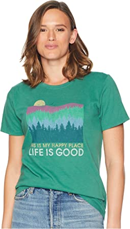 Happy Place Trees Crusher T-Shirt