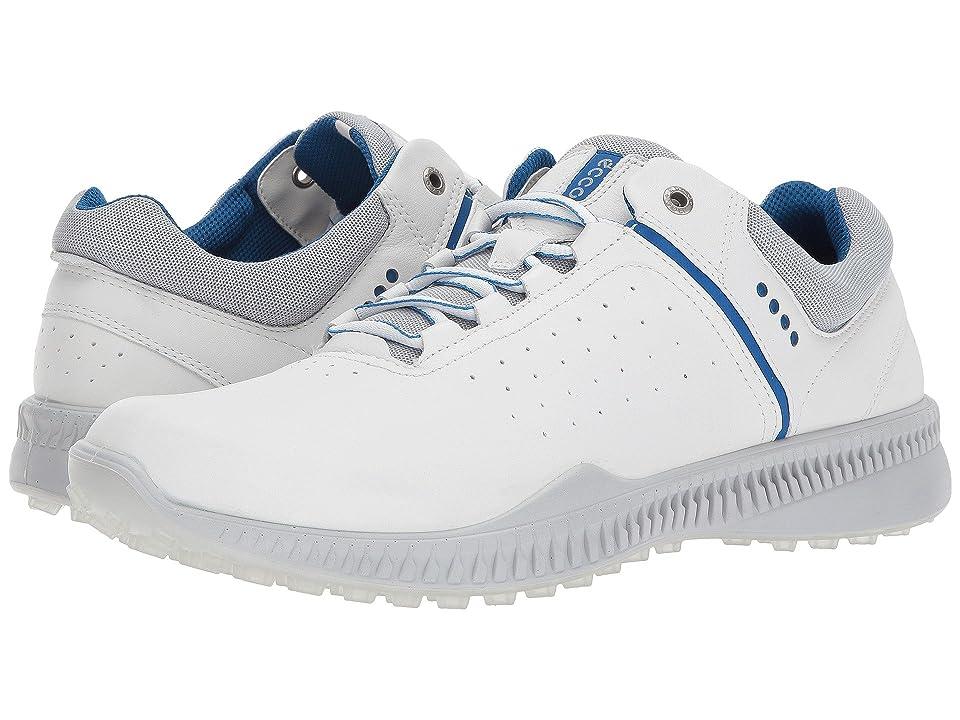 ECCO Golf S-Drive Perf (White/Concrete) Men