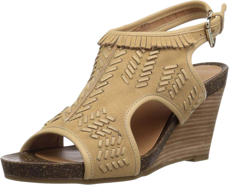 Aerosoles Womens Waterfront Wedge Sandal