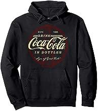 Coca-Cola Drink In Bottles Vintage Logo Pullover Hoodie