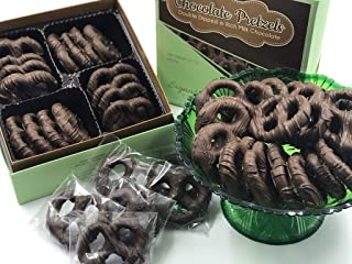 Milk Chocolate Coated Pretzels, Assorted Gourmet Pretzel, Individual pack, party gift - Double Dipped, Ideal Gift for Christmas & Birthday, Decadent, Smooth and Original