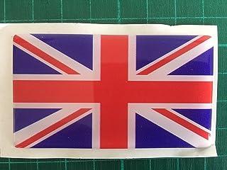 ITALIE Uni Royaume Drapeau Britannique Union Jack 110mm Autocollant x1 2 BONUS