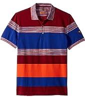 Missoni - Striped Color Block Polo