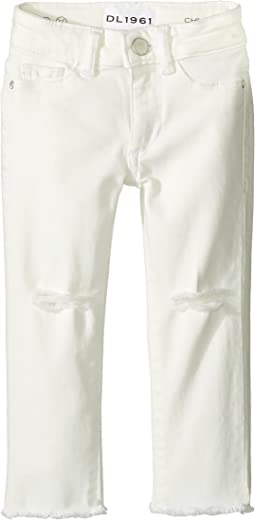 DL1961 Kids - Chloe Skinny Jeans in Eggshell (Toddler/Little Kids)