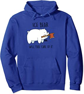 We Bare Bears Take Care Of It Pullover Hoodie