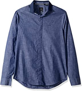 A|X Armani Exchange Men's Classic Button Down