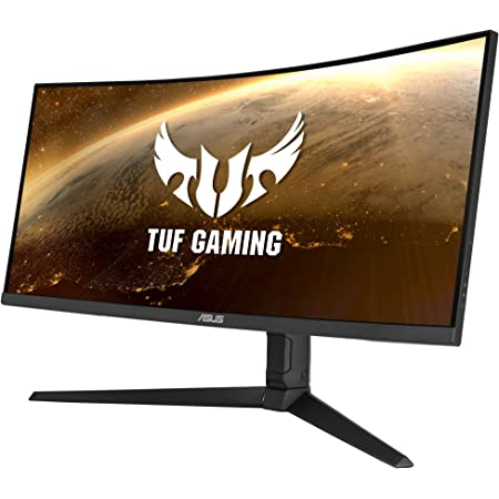 Asus Tuf Gaming Vg34vql1b Curved Monitor 86 4 Cm Computers Accessories