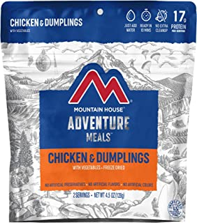 Mountain House Chicken & Dumplings | Freeze Dried Backpacking & Camping Food