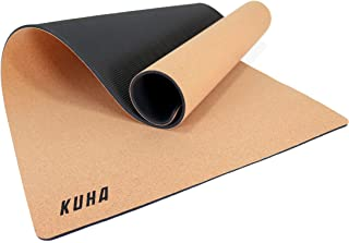 KUHA Professional Guitar Work Mat for Repair and Maintenance of String Instruments - Anti Slip Cork Surface Prevents Damage While Working, Cleaning, or Polishing - Comes with Microfiber Polish Cloth