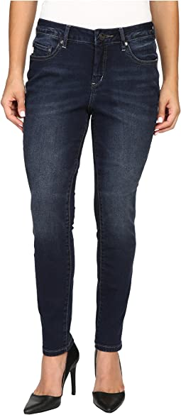 Petite Sheridan Skinny in Capital Denim in Dark Star