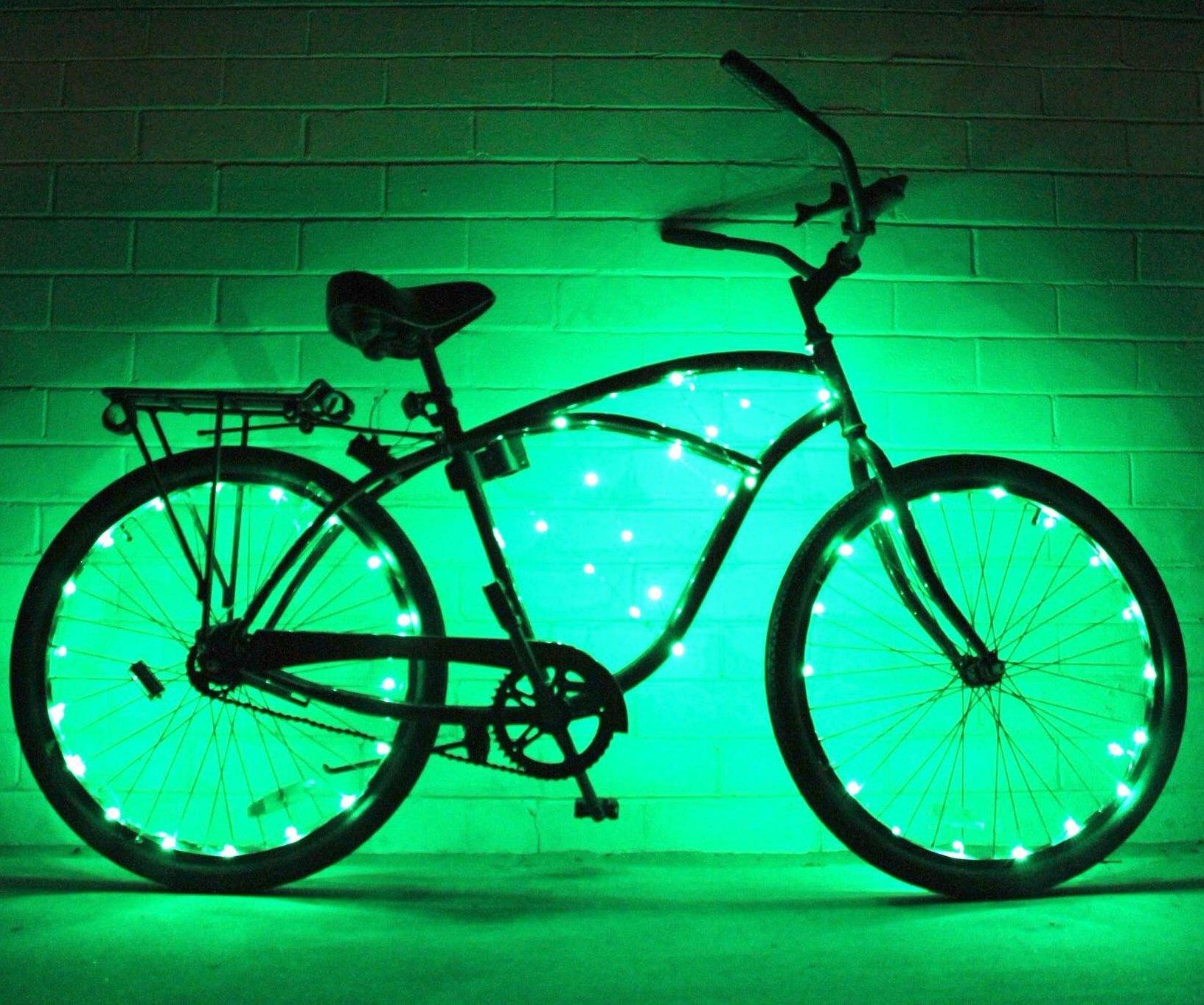GlowRiders Ultra Brillante LED – Cadena de Luces para Rueda de ...