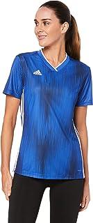 Adidas Australia Women's Tiro 19 Jersey (Short Sleeve), Bold Blue/White, S