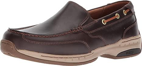 Dunham Men's Waterford Slipon Boat Shoe, Tan, 14 6E US