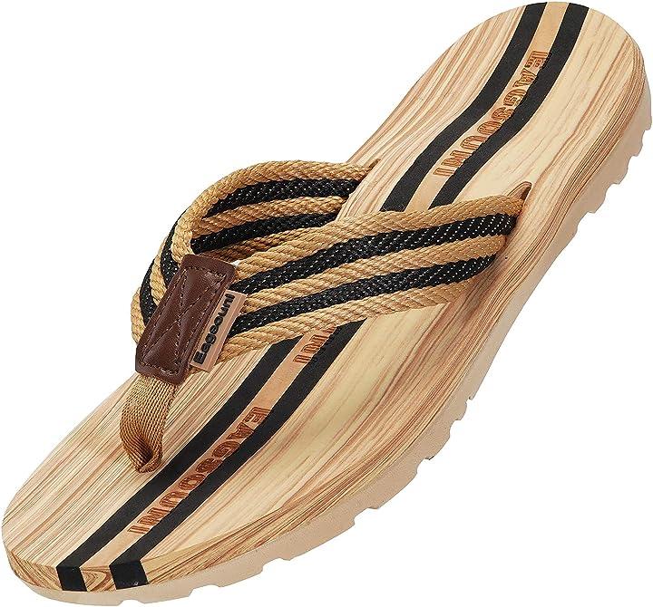 Infradito da mare per spiaggia e piscina estate scarpe unisex B0852475Z1