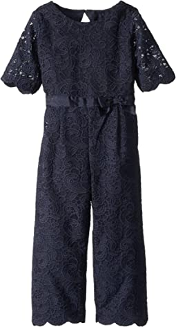 Lace Jumpsuit (Toddler/Little Kids/Big Kids)
