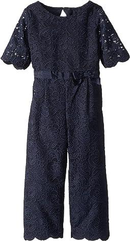 Lace Jumpsuit (Toddler/Little Kids/Big Kids)