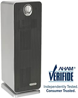 Germ Guardian True HEPA Filter Air Purifier for Home, Office, Bedrooms, Filters Allergies, Pollen, Smoke, Dust, Pet Dander, UV-C Sanitizer Eliminates Germs, Mold, Odors, Quiet 22 inch 3-in-1 AC4900CA