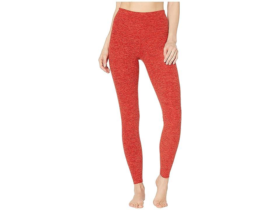 Beyond Yoga Spacedye Take Me Higher Long Leggings (Scarlet Sun/Sienna) Women
