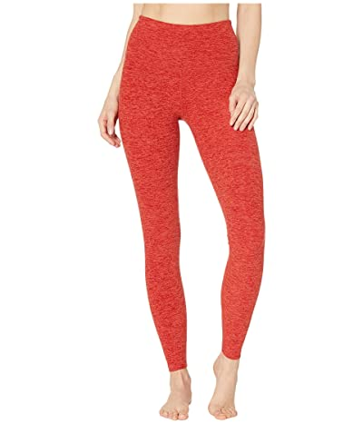 Beyond Yoga Spacedye Take Me Higher Long Leggings (Scarlet Sun/Sienna) Women