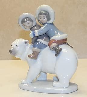 Lladro Eskimo Riders Without Original Box # 5353