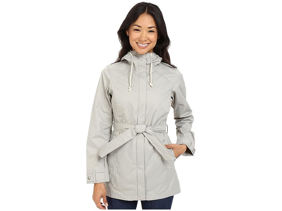 Columbia Pardon My Trenchtm Rain Jacket (Flint Grey) Women