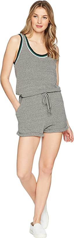 Venice Romper in Heather Charcoal
