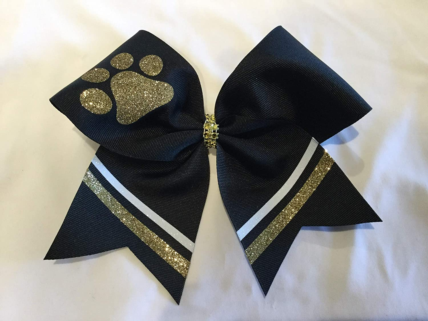 Paw Department store Columbus Mall Print Black Bow Cheer
