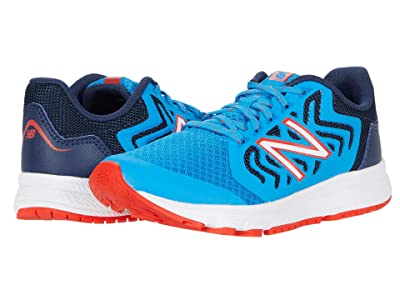 New Balance Kids 519v2 (Little Kid/Big Kid) (Vision Blue/Natural Indigo 2) Boy