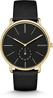 Skagen Men's SKW6217 Hagen Black Leather Watch