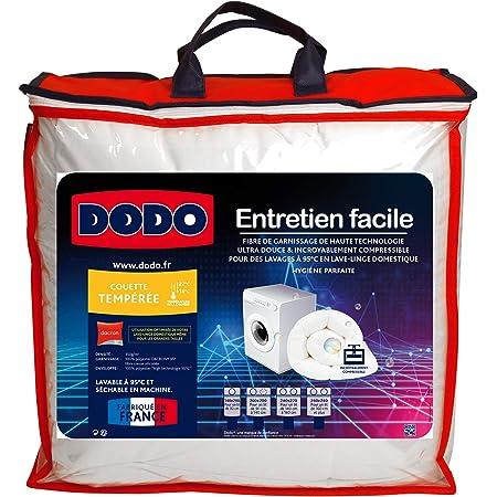 Dodo ENTRETIEN240 Couette, Enveloppe : 100% Polyester High Technologie 95°, Blanc, 220X240