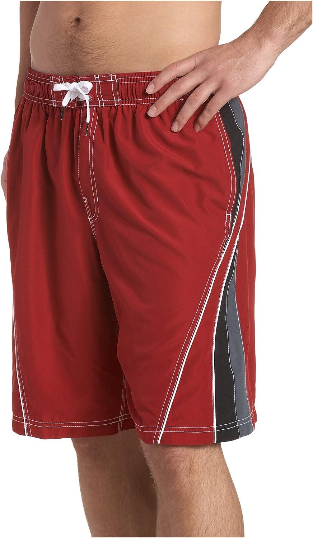 Speedo Men's Point Break Solid Splice Volley Board Shorts