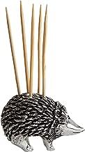 Creative Co-Op DA7183 Hedgehog Holder with Toothpicks, Silver