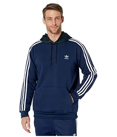 adidas Originals Tartan Block Hoodie (Collegiate Navy) Men