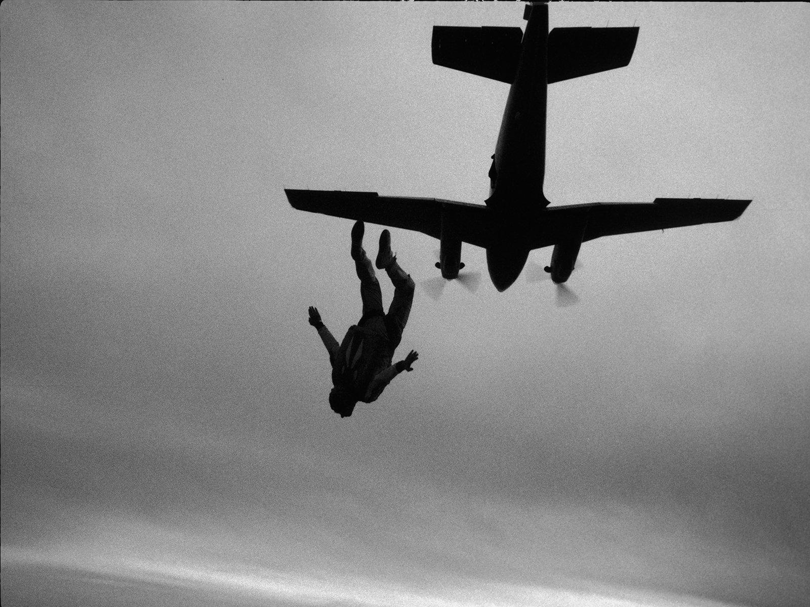 Skydiving Poster Sky Diving Skydive Parachuting 24x36