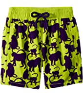 Vilebrequin Kids - Happy Monkey Flocked Swim Trunk (Toddler/Little Kids/Big Kids)