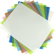 9 Sheet Variety Pack NON PSA (.3, 1, 3, 5, 9, 12, 30, 40 and 60 microns) Lapping Microfinishing Film Aluminum Oxide (AO) 8-1/2 x 11 Inches