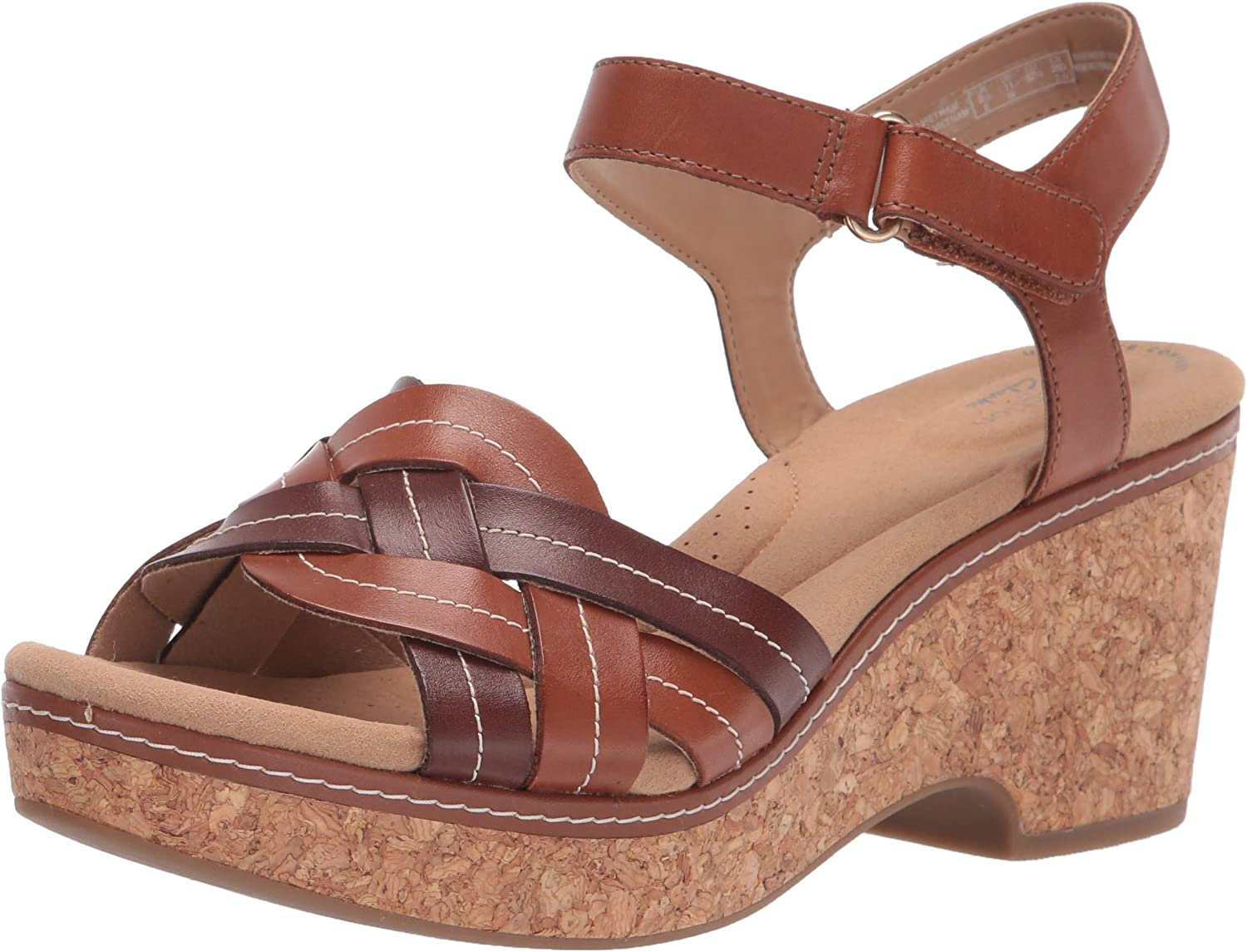 Popular shop is the lowest price challenge Direct store Clarks Women's Giselle Coast Sandal Wedge