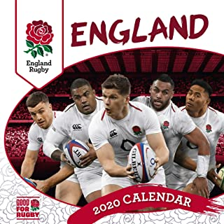 England Rugby Union 2020 Calendar - Official Square Wall Format Calendar