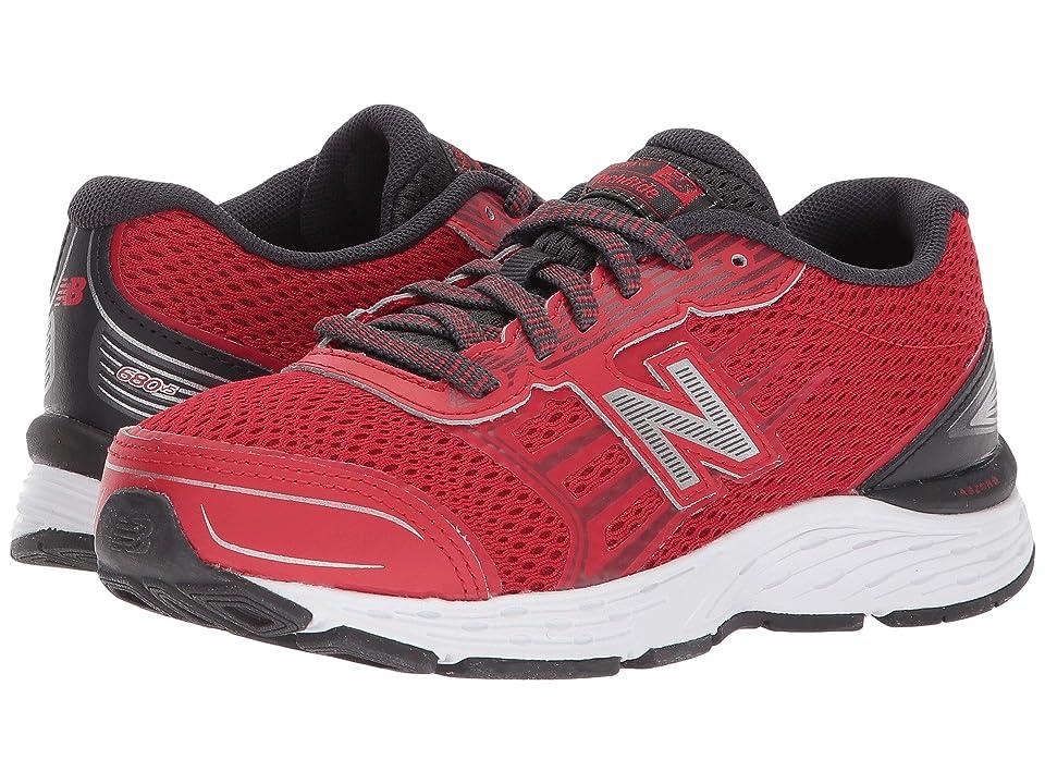 New Balance Kids KR680v5Y (Little Kid/Big Kid) (Team Red/Phantom) Boys Shoes