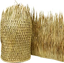 Backyard X-scapes Mexican Palm Thatch Runner Roll, 35in H x 8ft L