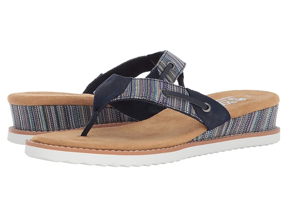 BOBS from SKECHERS Desert Kiss Bohemian (Navy Multi) Women